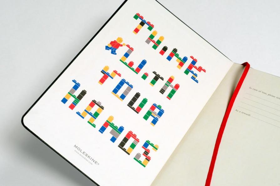 © Luca Bogoni - Moleskine Lego