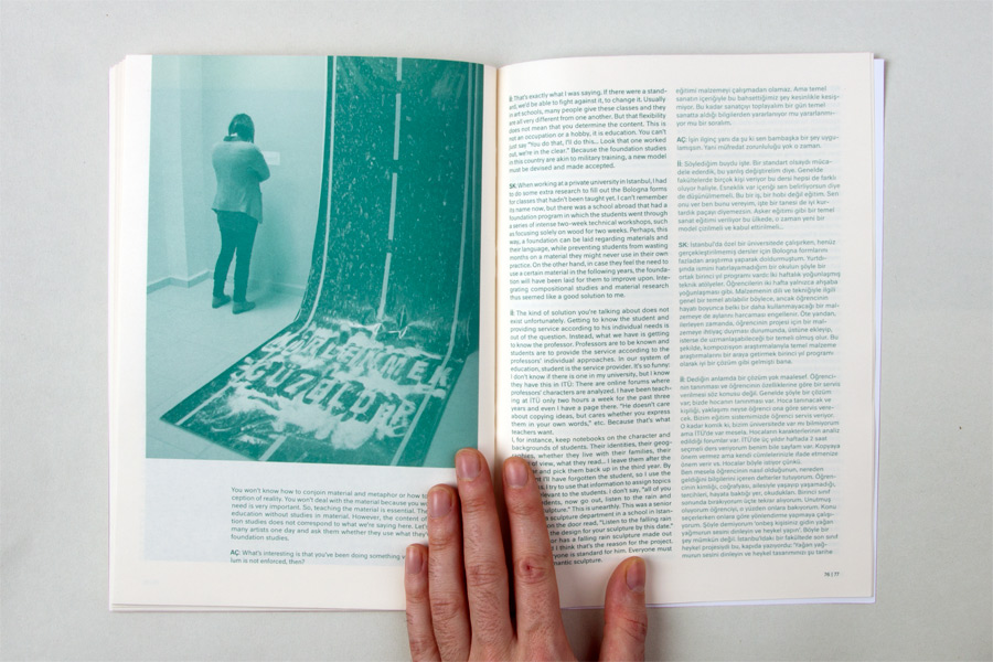 © Luca Bogoni - Expanden art school - catalogue